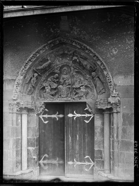 Transept nord : portail