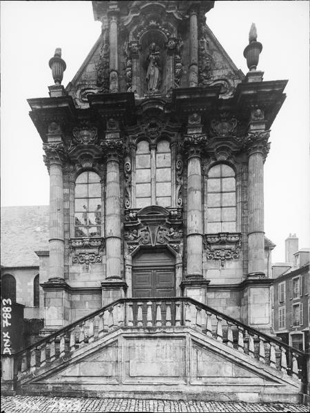 Chapelle de la Visitation : façade ouest