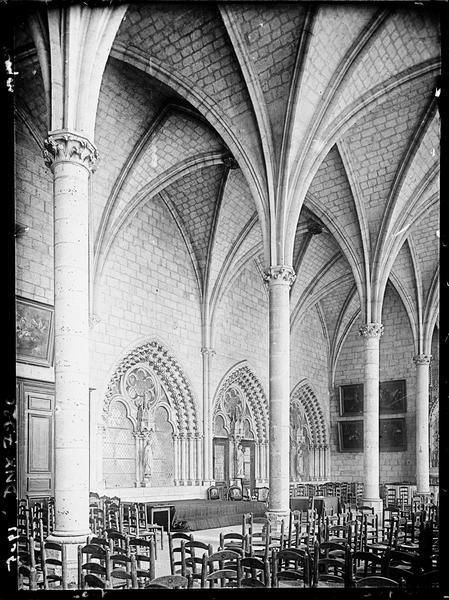 Salle capitulaire : intérieur