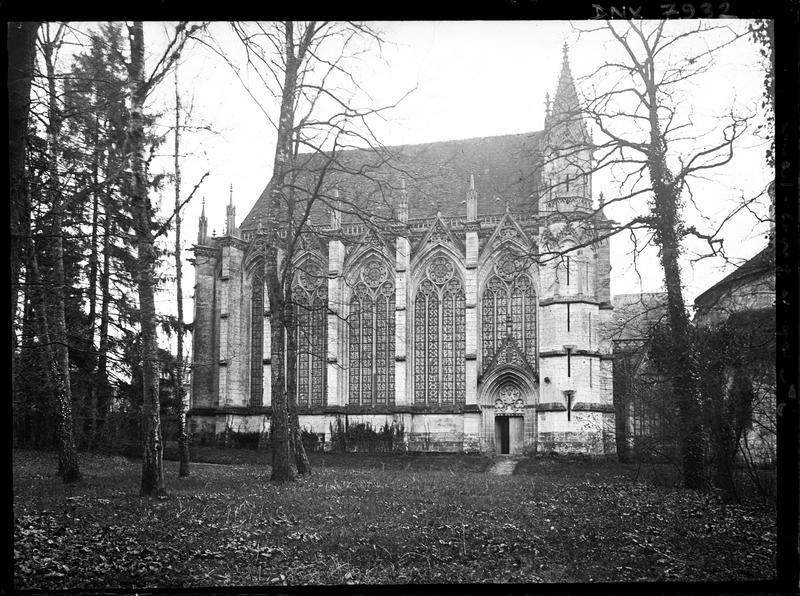 Chapelle de la Vierge dite Sainte Chapelle : façade nord