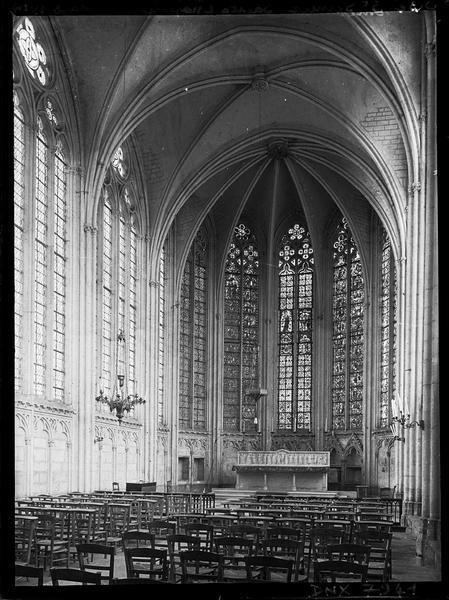 Chapelle de la Vierge dite Sainte Chapelle, intérieur : choeur