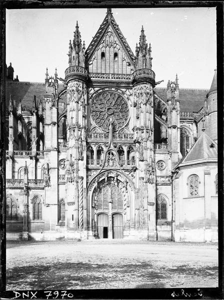 Croisillon sud : façade
