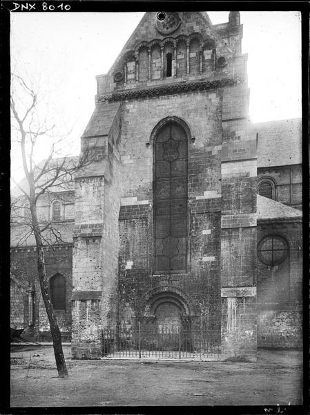 Transept nord : façade
