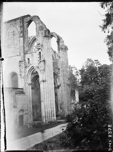 Ruines de l'église