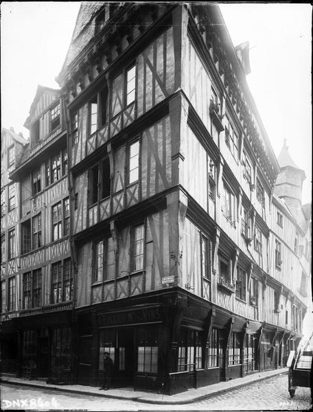 Angle des façades sur rue