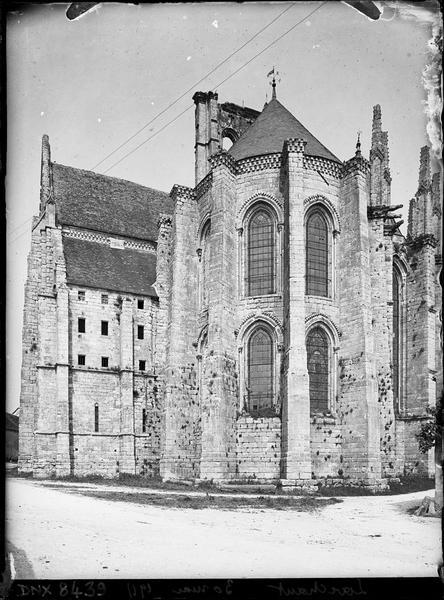 Abside et transept