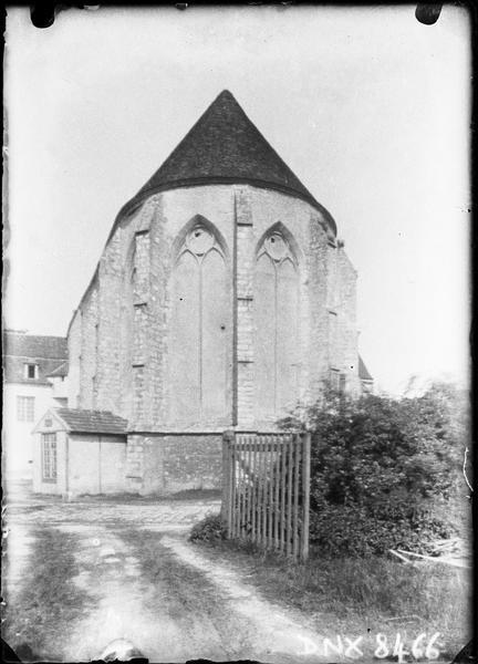 Eglise abbatiale : abside, côté est