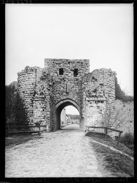Porte Saint-Jean : façade extra-muros