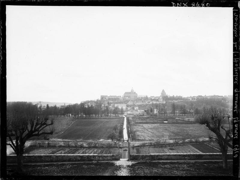 La ville vue de l'hôpital général