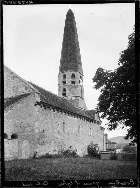 Façade sud et clocher