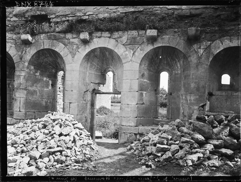 Ruines du réfectoire