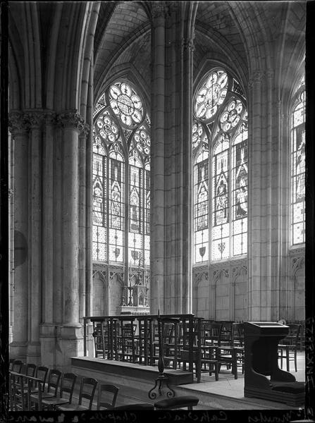 Intérieur : chapelle de Navarre