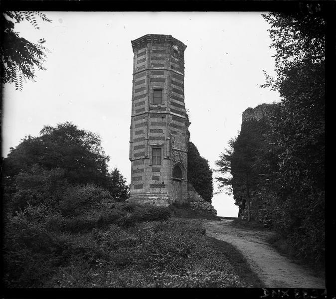 Vestiges : tourelle dite la vieille tour