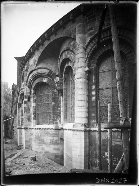 Côté sud-est de l'abside