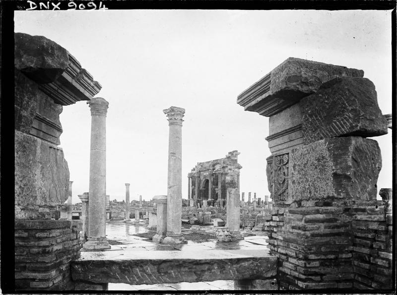 Ruines des boutiques