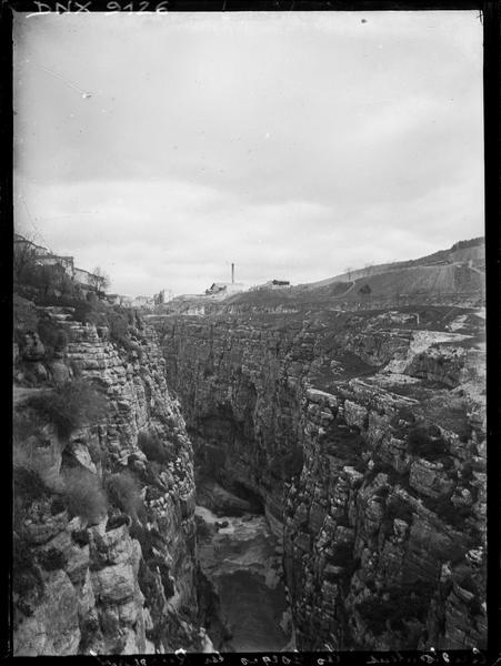 Gorges du Rhummel : vue plongeante