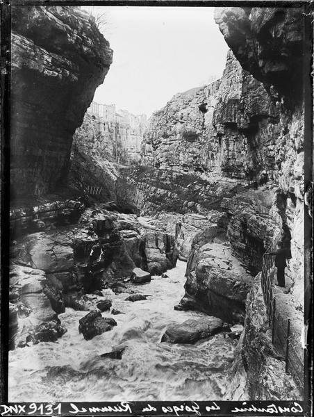 Gorges du Rhummel : vue perspective