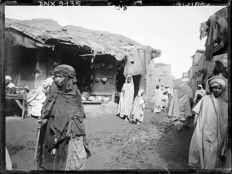 Village kabyle : maisons et habitants