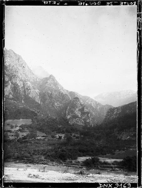 Route de Bougie à Sétif : montagnes