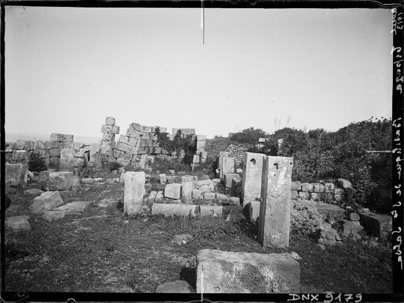 Ruines : vue rapprochée