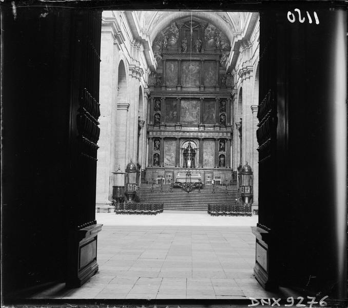 Basilique : grand retable du maître-autel