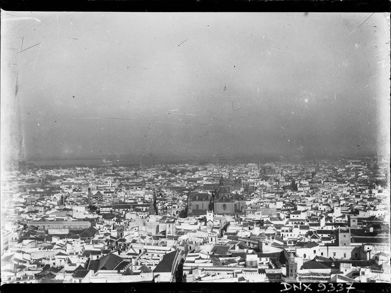 Vue panoramique d'une ville