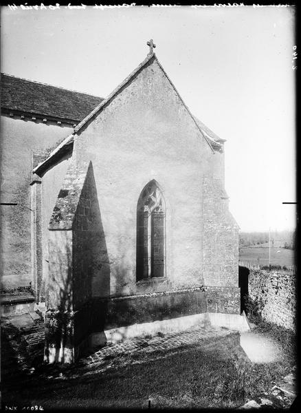 Pignon du transept sud