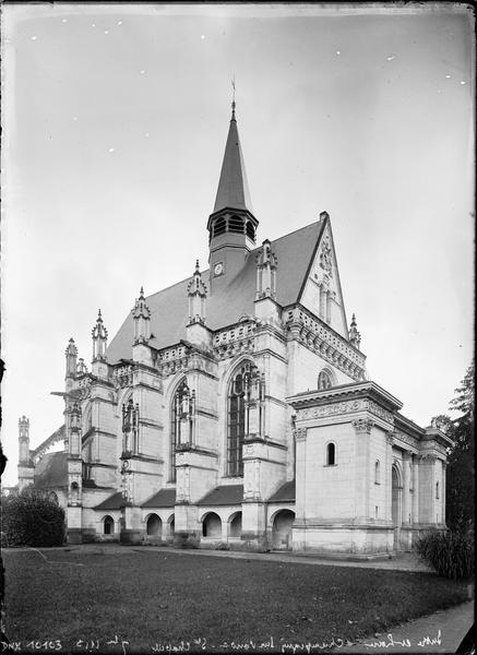 Chapelle : façade nord