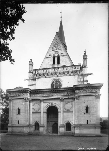 Chapelle : façade ouest
