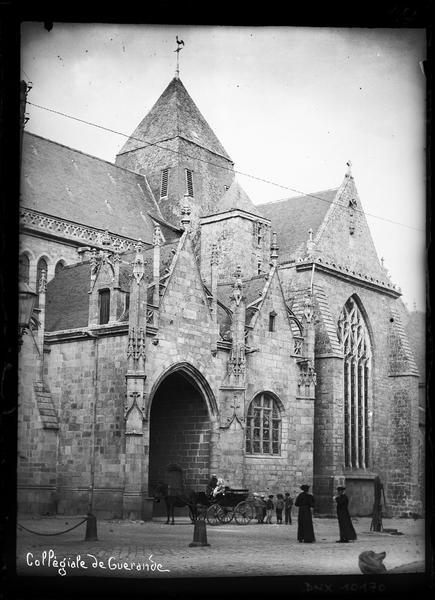 Porche et transept sud