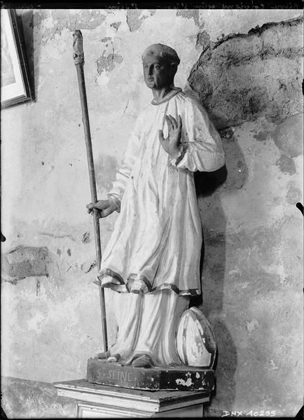 Statue : saint Seine