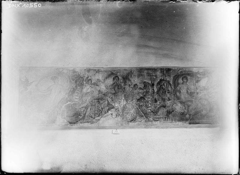 Mosaïque romaine du 2e siècle : Néréides et monstres marins