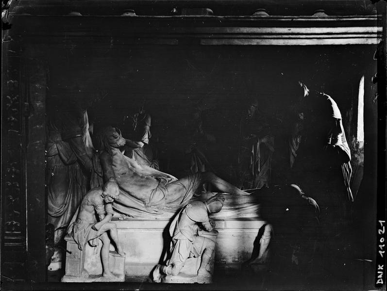 Intérieur : Mise au tombeau