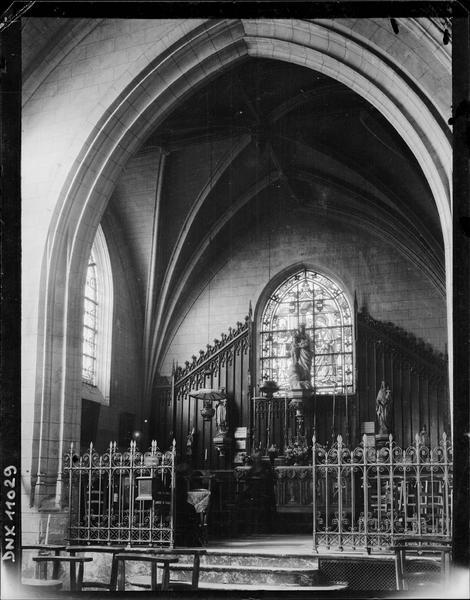 Intérieur : chapelle