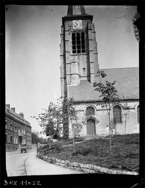 Clocher, façade nord