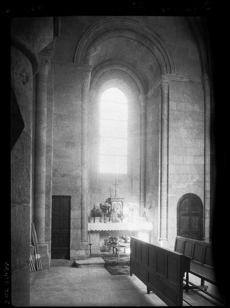 Intérieur : transept sud