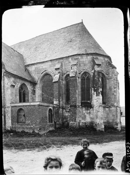 Chevet, façade sud