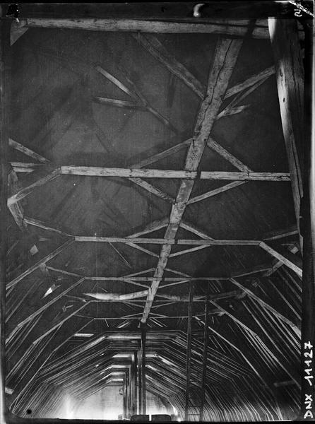 Détail de la charpente 17e - 18e siècles