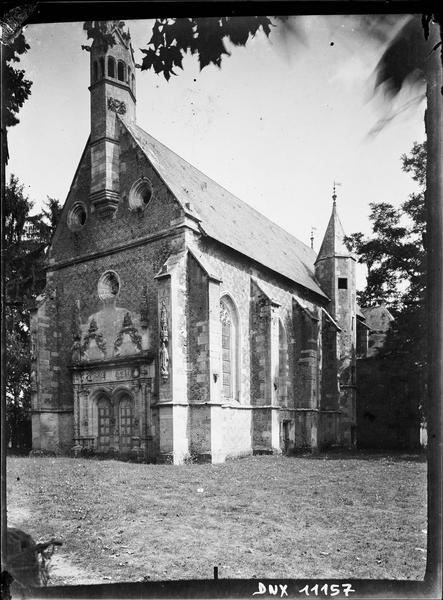 Chapelle : ensemble sud-ouest
