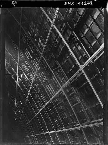 Charpente de la nef : détail
