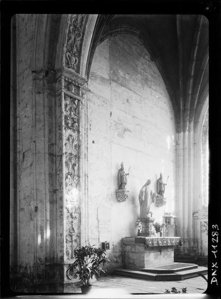 Intérieur du transept sud