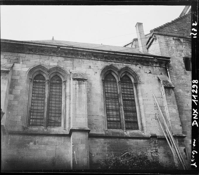 Transept sud : face est