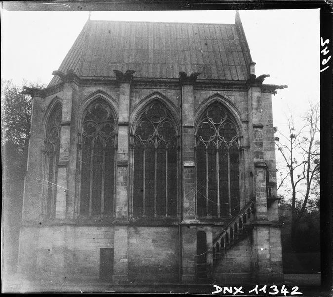 Chapelle de l'Abbé : façade latérale