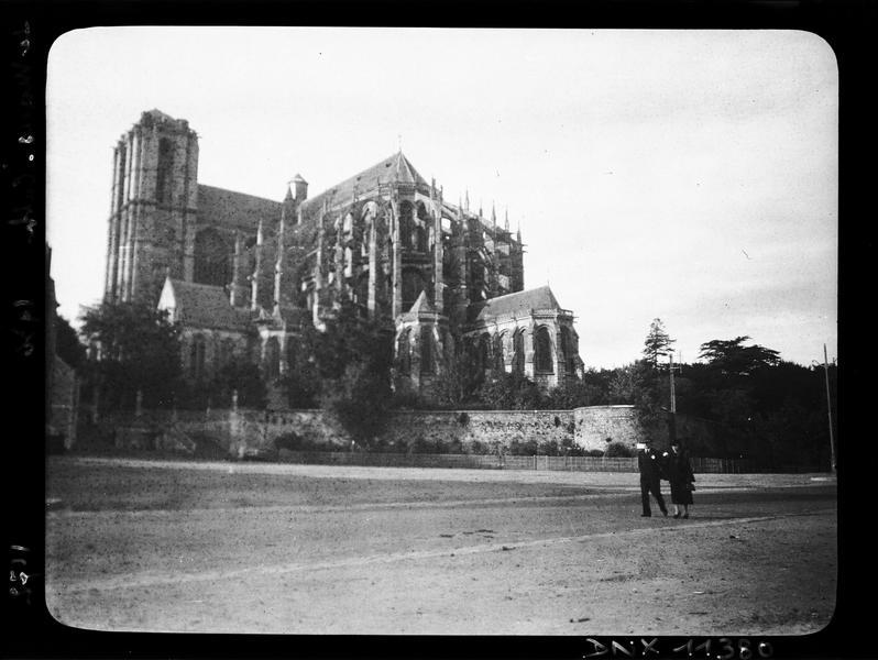 Ensemble sud-est : abside