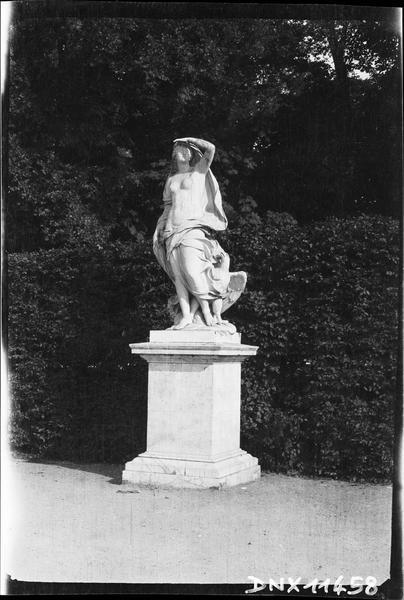 Parterre d'Eau, fontaine du Soir : statue de l'Air