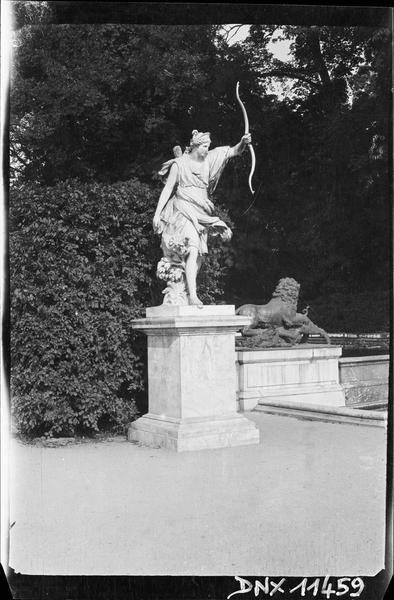 Parterre d'Eau, fontaine du Soir : statue du Soir