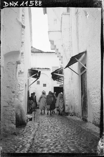 Quartier arabe : une rue