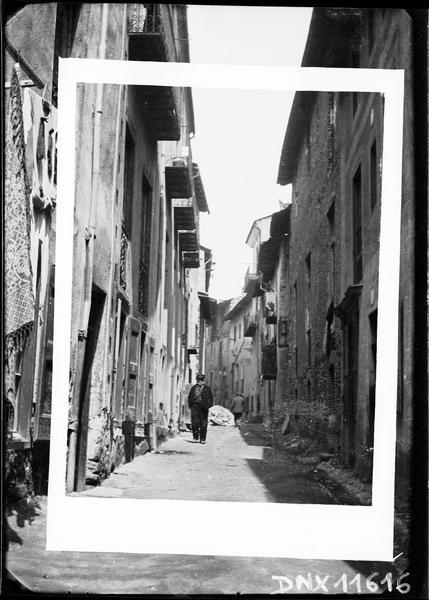Rue, vue perspective