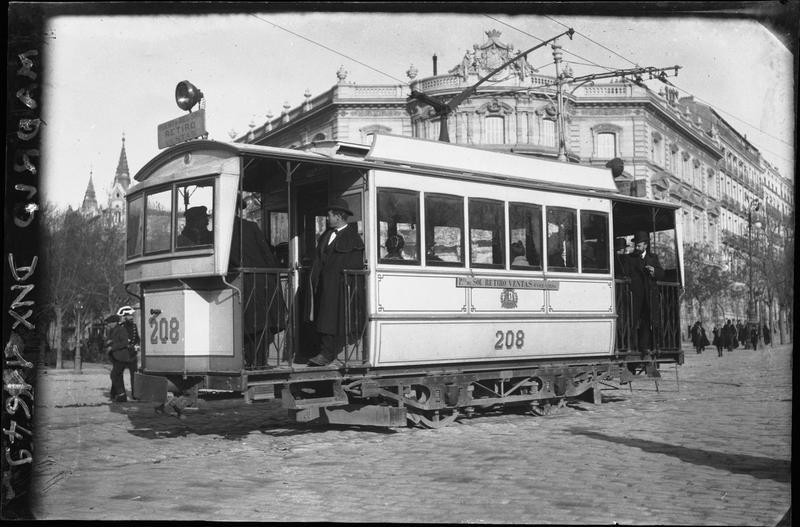 Tramway de la ligne «Puerta del Sol – Retiro Ventas»