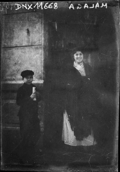 Portrait : femme et enfant